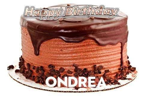 Happy Birthday Wishes for Ondrea