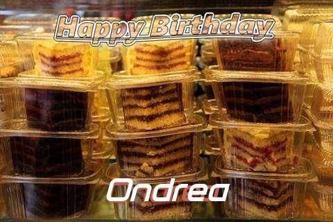 Happy Birthday to You Ondrea