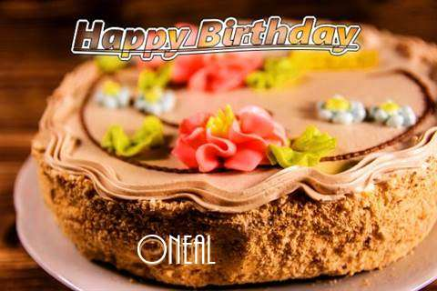 Happy Birthday Oneal