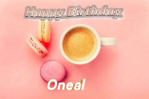 Happy Birthday to You Oneal