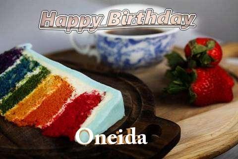 Happy Birthday Oneida