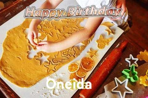 Oneida Birthday Celebration