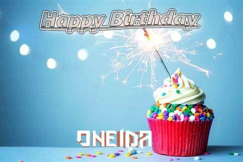 Happy Birthday Wishes for Oneida