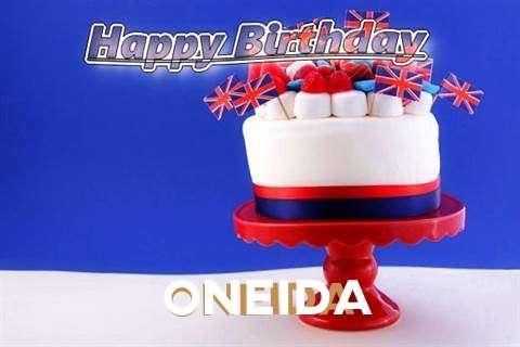 Happy Birthday to You Oneida