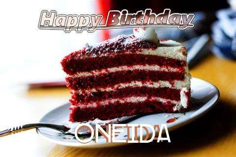 Happy Birthday Cake for Oneida