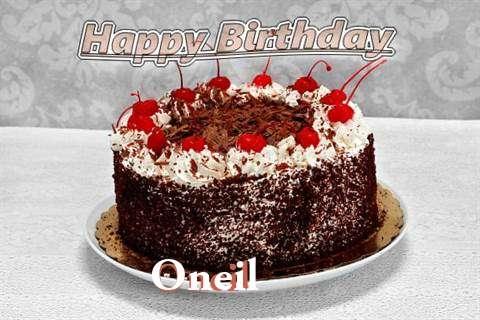 Happy Birthday Oneil