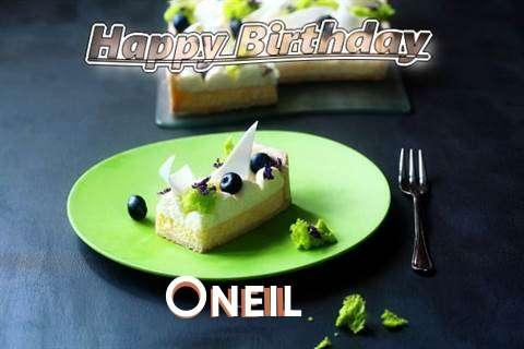 Oneil Birthday Celebration