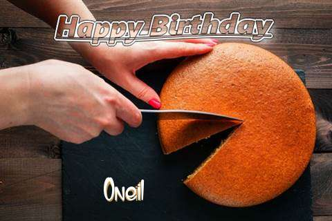Happy Birthday to You Oneil