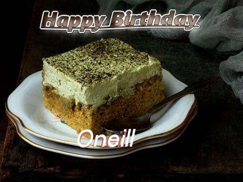 Happy Birthday Oneill