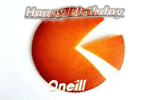 Oneill Birthday Celebration