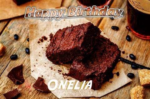 Happy Birthday Onelia Cake Image