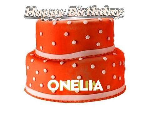 Happy Birthday Cake for Onelia