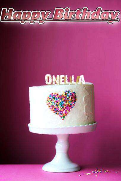 Birthday Wishes with Images of Onella