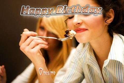 Happy Birthday to You Onesimo