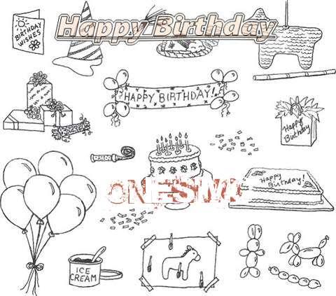 Happy Birthday Cake for Onesimo