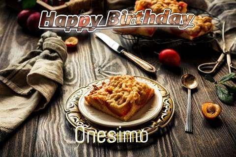 Onesimo Cakes