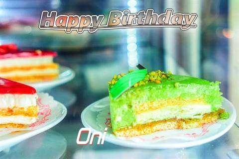 Oni Birthday Celebration