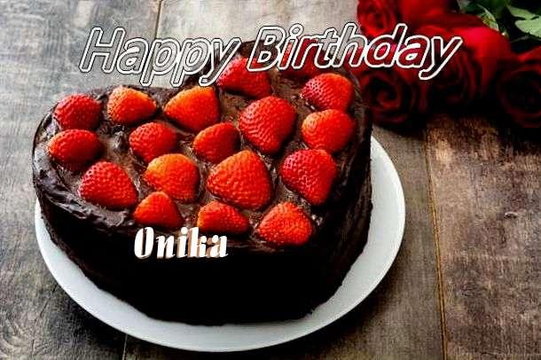 Happy Birthday Wishes for Onika