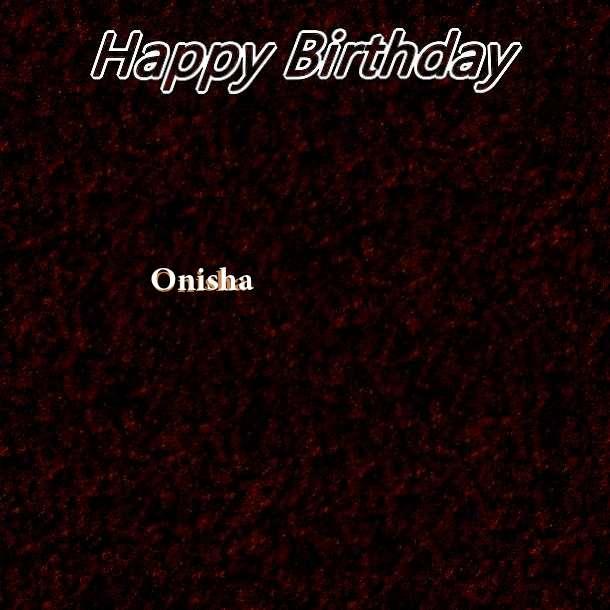 Happy Birthday Onisha Cake Image