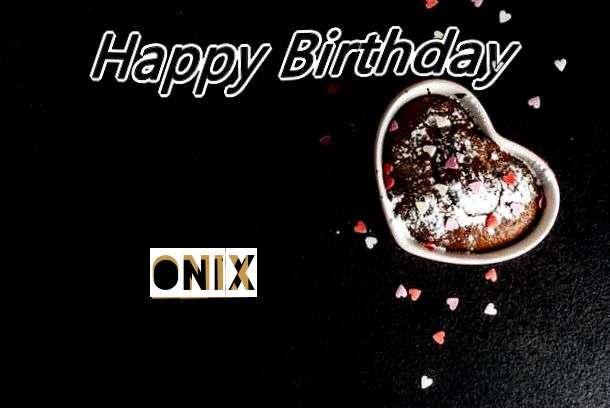 Happy Birthday Onix