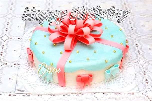 Happy Birthday Wishes for Onix