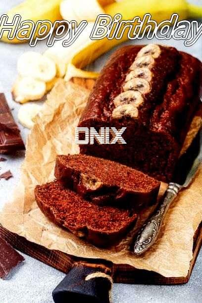 Happy Birthday Cake for Onix
