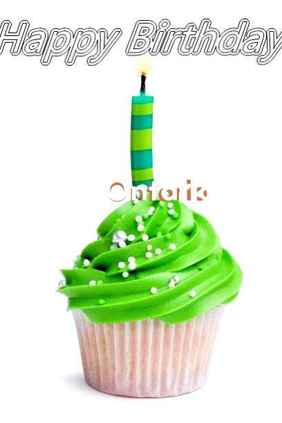 Ontario Birthday Celebration