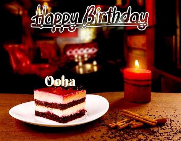 Happy Birthday Ooha Cake Image