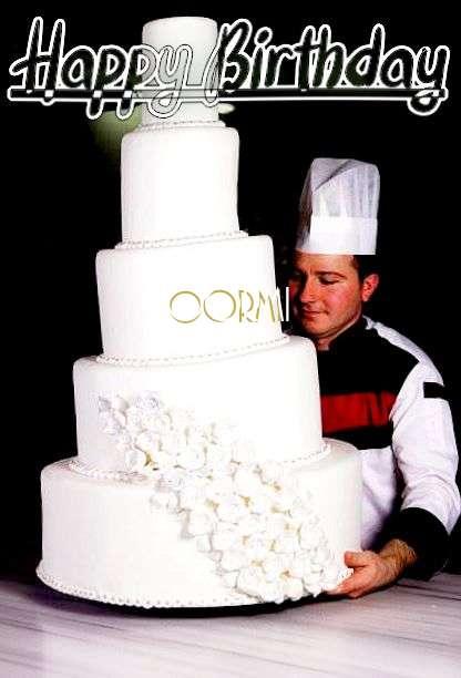 Oormi Birthday Celebration
