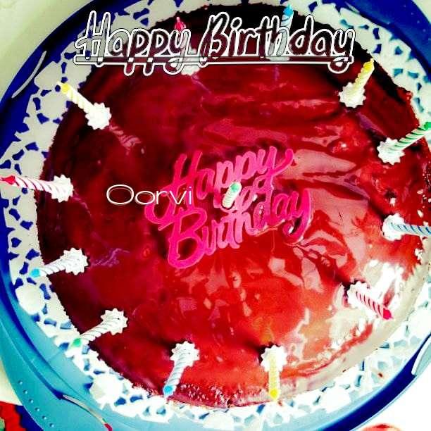 Happy Birthday Wishes for Oorvi