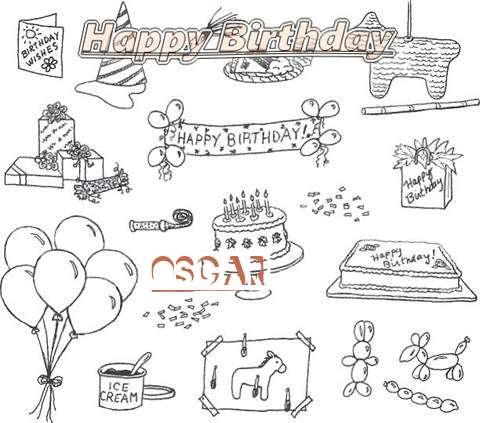 Happy Birthday Cake for Oscar