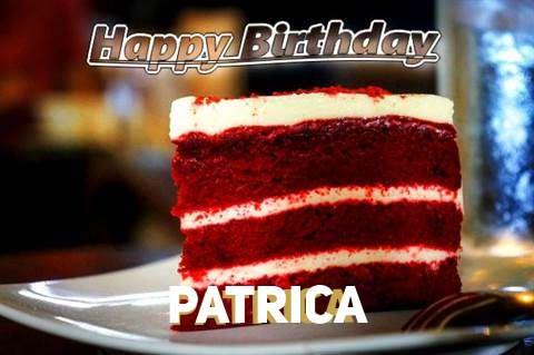 Happy Birthday Patrica