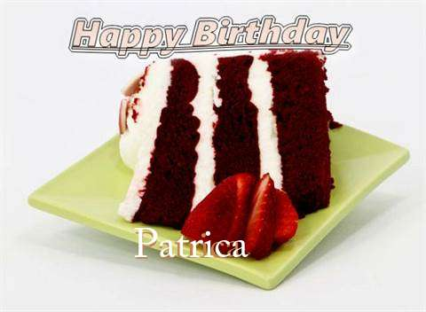 Birthday Wishes with Images of Patrica