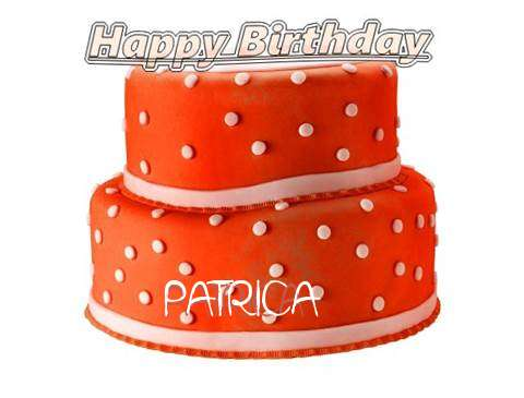 Happy Birthday Cake for Patrica