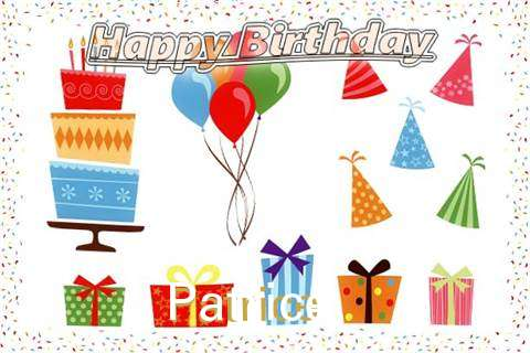 Happy Birthday Wishes for Patrice