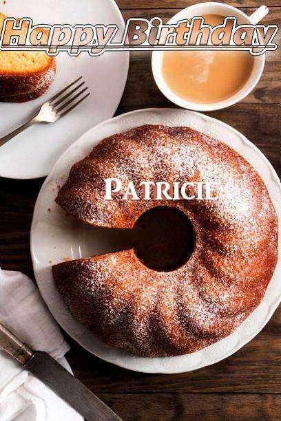 Happy Birthday Patricie Cake Image