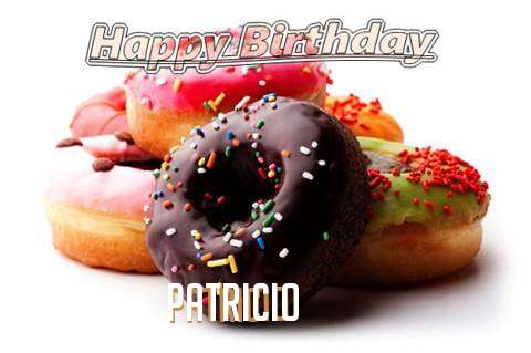 Birthday Wishes with Images of Patricio