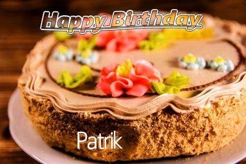 Happy Birthday Patrik