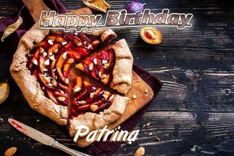Happy Birthday Patrina Cake Image