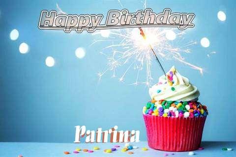 Happy Birthday Wishes for Patrina