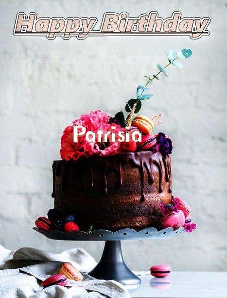 Happy Birthday Patrisia Cake Image