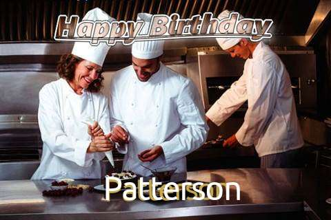 Happy Birthday Cake for Patterson