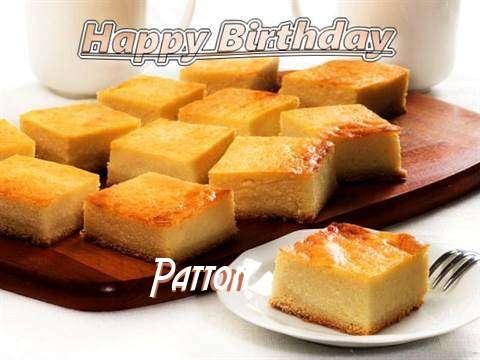 Happy Birthday to You Patton