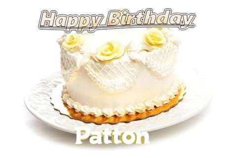 Happy Birthday Cake for Patton