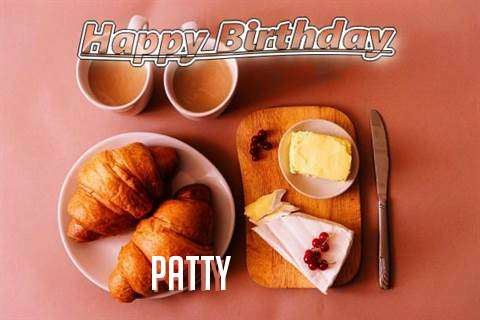Happy Birthday Wishes for Patty