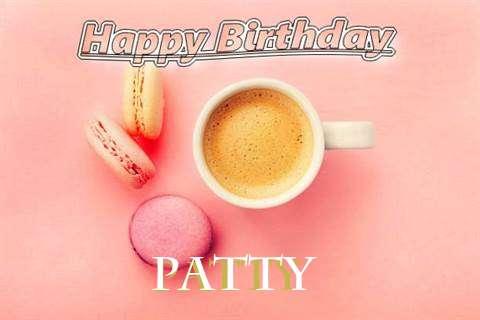 Happy Birthday to You Patty