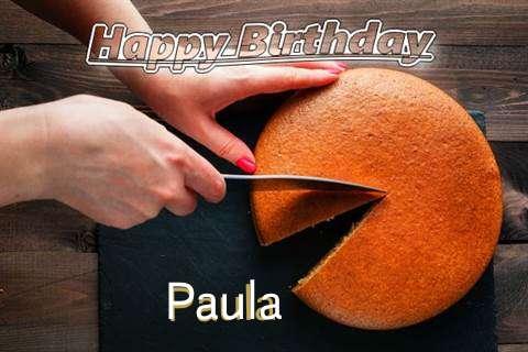 Happy Birthday to You Paula