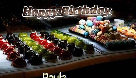 Happy Birthday Cake for Paula