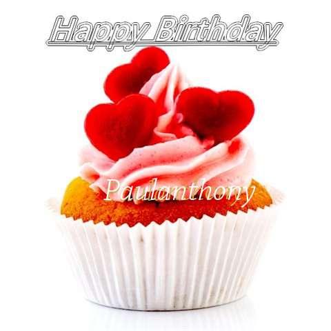Happy Birthday Paulanthony