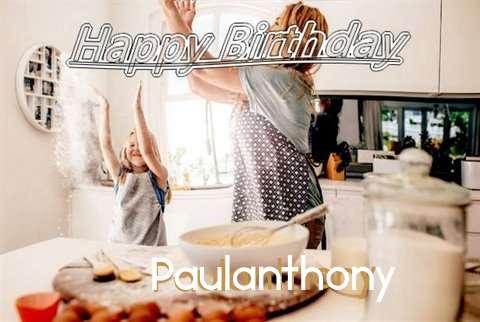 Birthday Wishes with Images of Paulanthony